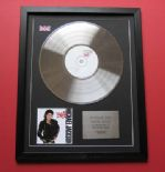 MICHAEL JACKSON - Bad SpECIAL EDITION CD / PLATINUM LP DISC